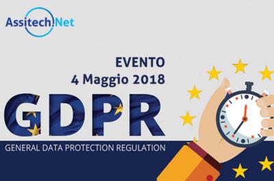 Locandina evento GDPR